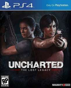 Uncharted The Lost Legacy PS4 used £9.99 @ Boomerang rentals