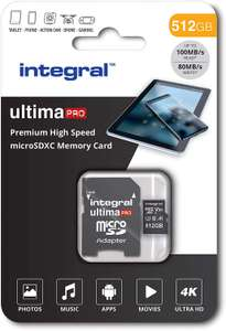 Integral 512GB Micro SD Card Premium 4K - £57.99 @ Amazon