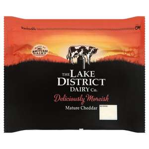 Lake District Cheddar Cheese for £5 a kilo at Morrisons