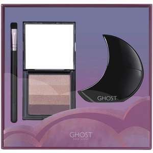 Ghost Deep Night Eau de Toilette Spray, Eye Shadow Pallet and Makeup Brush Gift Set Delivered £13.50 Amazon Prime / +£3.49 non Prime