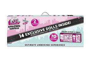 L.O.L. Surprise! Amazing Surprise with 14 Dolls & 70+ Surprises £115 @ Amazon