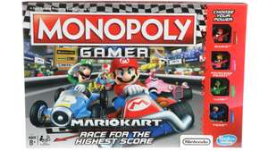 Monopoly Gamer Edition (Mario Kart) £14.95 @ net_price_direct / fulfilled by Amazon