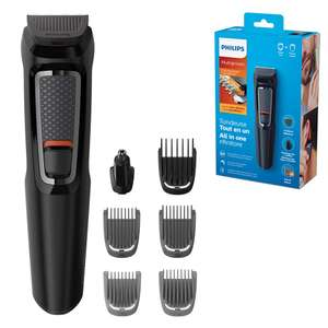 Philips Series 3000 7-in-1 Multi Grooming Kit for Beard and Hair with Nose Trimmer Attachment £15 @ Amazon Prime (£19.49 non Prime)