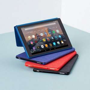Fire HD 10 Tablet, 1080p Full HD Display, 32 GB, Black (7th Gen) With Special Offers £99.99 / 64GB £129.99 @ Amazon