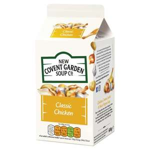 New Covent Garden Fresh Soup 600g For £1 (All links in description) @ ASDA INSTORE/ONLINE