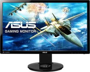 "ASUS VG248QE LED 24"" 144Hz 1ms Gaming Monitor Nvidia 3D V2 Height/Tilt/Swivel/Pivot Adjustable £164.99 at Amazon"
