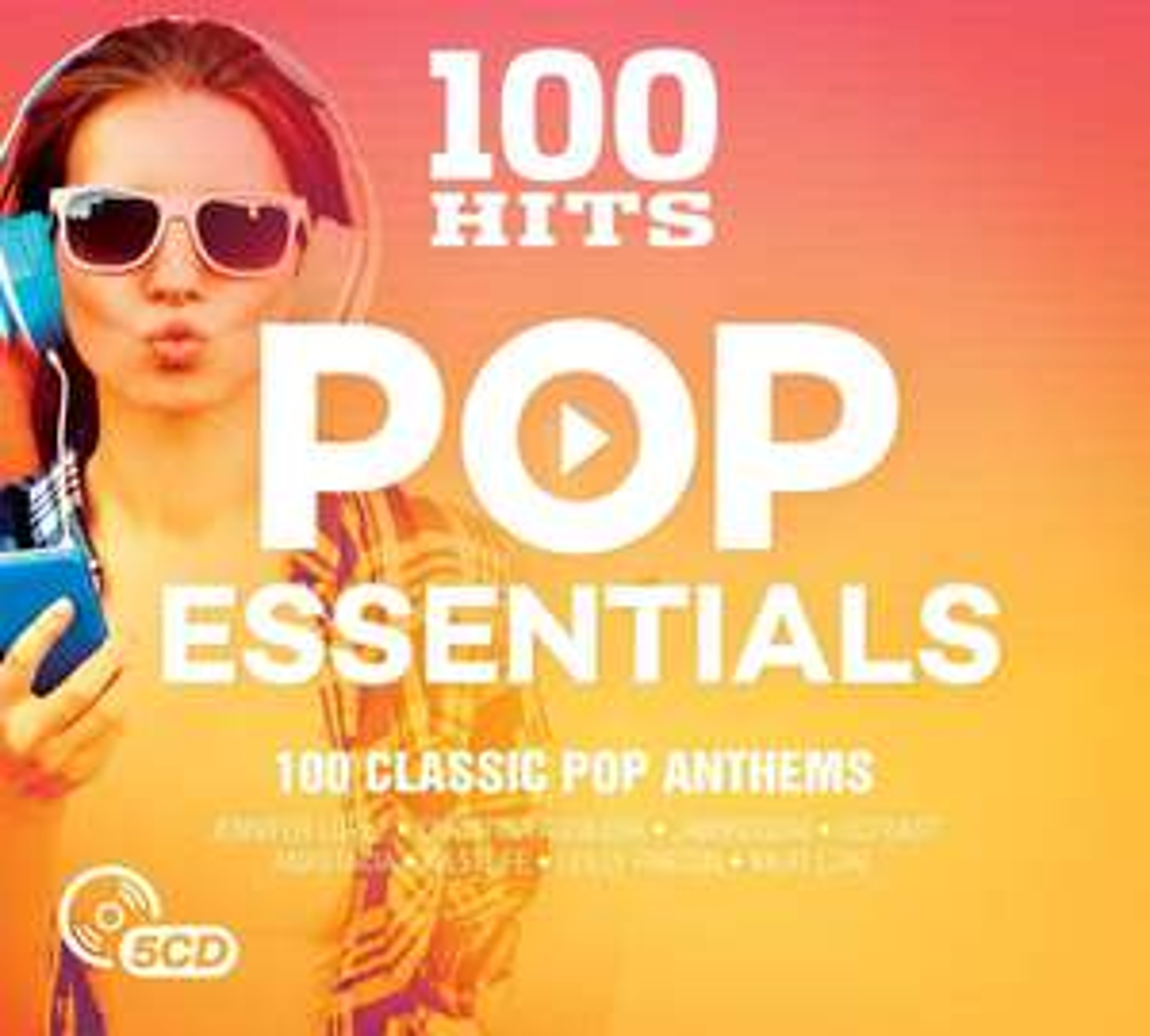 100 Hits Pop Essentials CD £2.99 (Prime) / £3.98 (non Prime) at Amazon