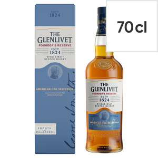 The Glenlivet Rsr Malt Whisky 70Cl @ Costco Warehouse - £19.78