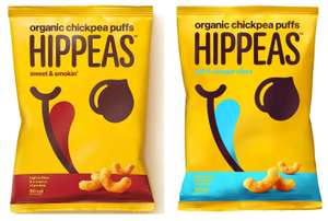 FREE Hippeas Organic Chickpea Puffs (With Code) @ Tesco