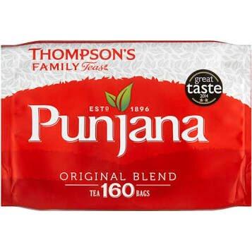 Punjana 160 Tea Bags £2.25 Spar