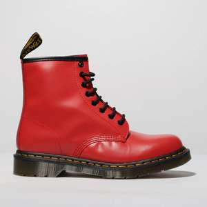 Dr Martens Mens 1460 Red Boots Size 9 & 12 Only - £84.99 (Free Click and Collect) @ Schuh