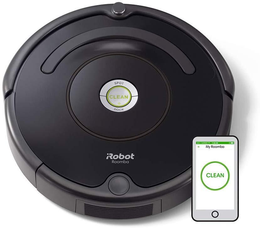 iRobot Roomba 671 Robot Vacuum Cleaner, WiFi Connected - Black £249.99 @ Amazon
