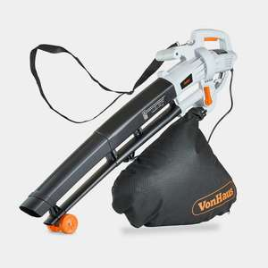 Vonhaus 3000W Leaf Blower, Vacuum & Leaf Mulcher + 2 Year Warranty £27.99 Delivered @ VonHaus