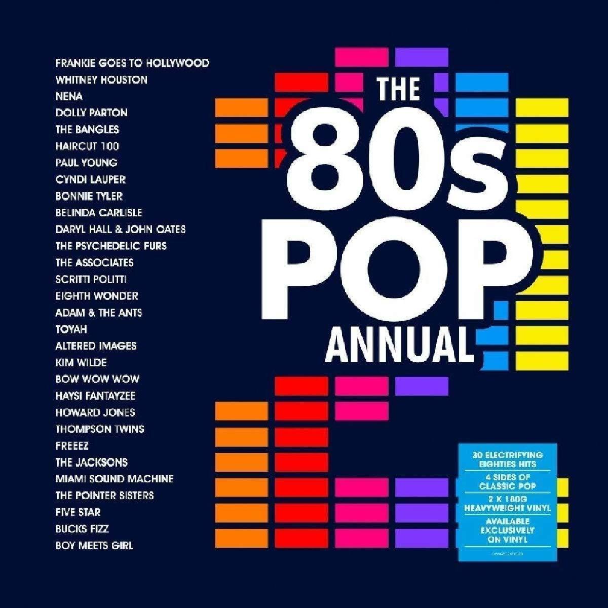 £9.99 (Prime) £12.98 (Non Prime) 80's Pop Annual Vinyl on Amazon.