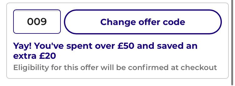 £20 off £50 spend @ Studio