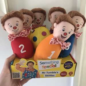 Something Special Mr Tumble's Skittles £4.99 In store Home Bargains