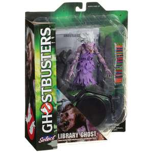 Ghostbusters library ghost & zombie taxi driver figures - £6 @ B&M stores (Hinckley)