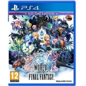 World of final fantasy (PS4) £7.50 used delivered @ CEX