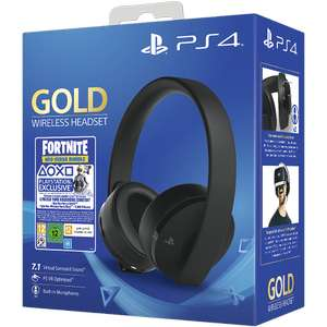 PS4 Gold Wireless Headset with Fortnite Neo Versa Bundle - £49.99 @ Game