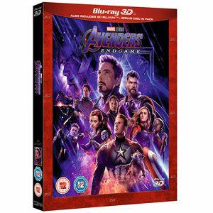 Avengers Endgame 3D Blu Ray - £14.99 (Prime) £17.98 (Non Prime) @ Amazon