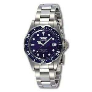 Invicta 9204 Pro Diver Unisex Stainless Steel 200m WR watch Uni-Directional Rotating Bezel 3 Years warranty £40.11 @ Amazon