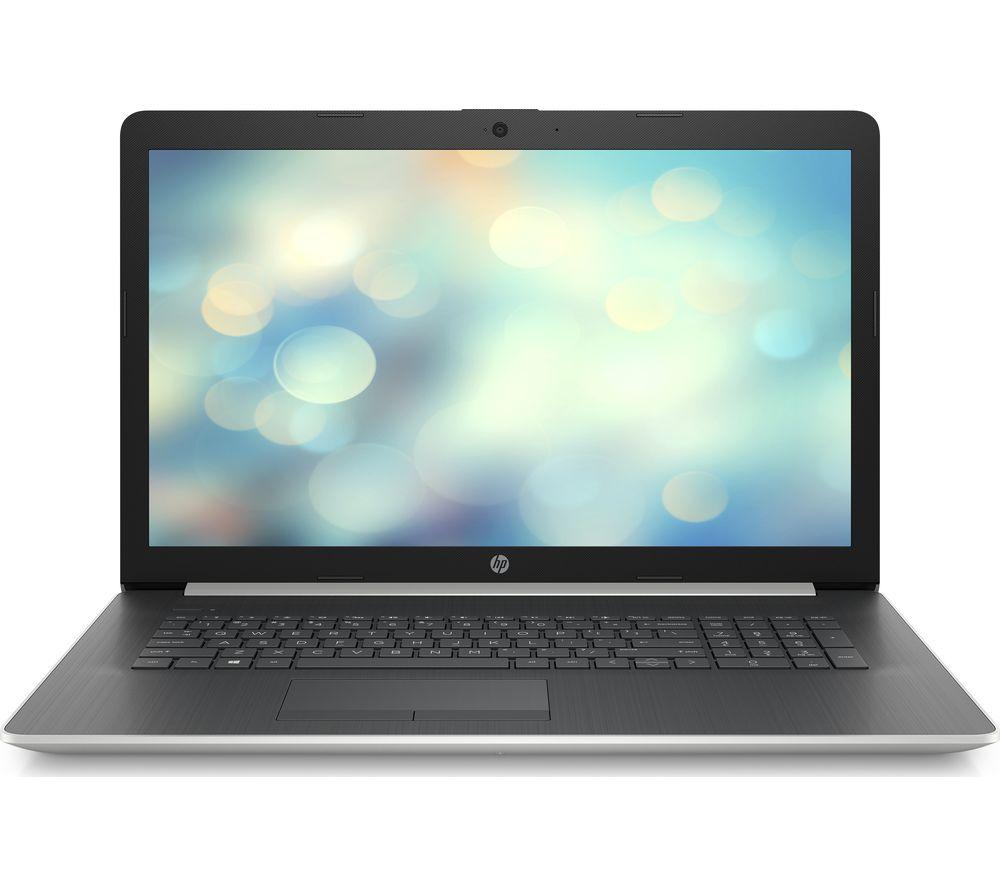 "HP 17-ca1500na 17.3"" AMD Ryzen 5 Laptop - 1 TB HDD & 256 GB SSD, Silver £649 at Currys PC World"