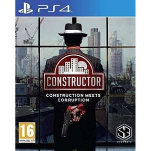 Constructor PS4 £4.95 at The Game Collection