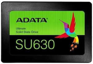 """Adata Ultimate SU630 3D NAND 960GB 2.5"""" SSD Up To 520MB/s Read 