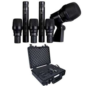 Lewitt DTP Beat Kit 6 Drum Microphone Kit - 1 Kick Mic, 3 Tom Mics & 2 Pencil Condensers £399 Delvered @ Andertons