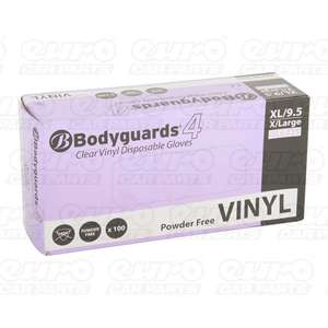 Bodyguard Vinyl P/Free Gloves Xl Qty 100 £3.30 with code delivered @ CarParts4Less