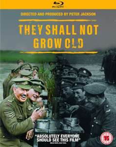 They Shall Not Grow Old - Blu Ray £9.99 prime / £12.98 non prime @ Amazon