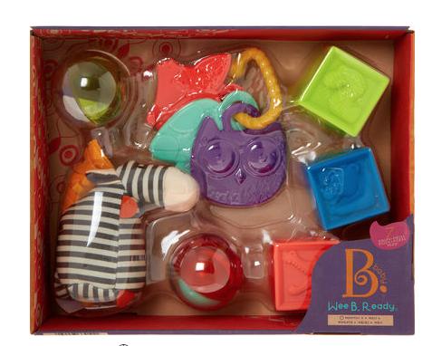 MYBTOYS 7 Sensory Baby Toys Set - £10 @ TK-MAXX £1.99 click and collect