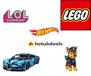 20% off when you spend £20 or more on toys @ Argos / Argos eBay + stacks with other offers (Deals in post)