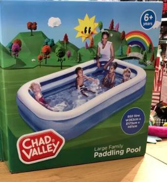 Chad Valley large Paddling pool £4.50 @ Sainsbury's Alton