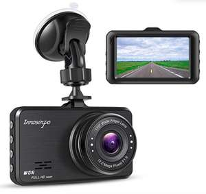 Dashcam FHD 1080P with 170° Wide Angle 3-Inch Screen £17.84 (+ £4.49 delivery Non Prime) Sold by VosMii-UK and Fulfilled by Amazon