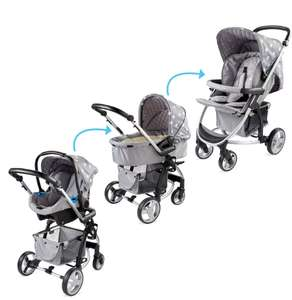 My Babiie 3-in-1 Travel System £179.99 delivered @ Aldi