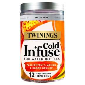 Twinings Cold Infuse (all flavours) £2.00 at Waitrose & Partners