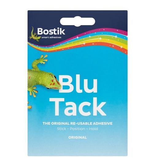Bostic Blu Tack 75p @ Tesco