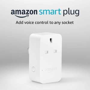 Amazon Alexa Smart Plug £9.99 with code @ Amazon (Account Specific)