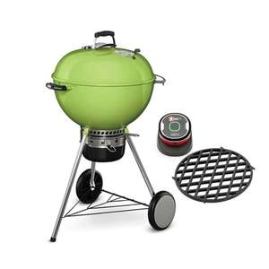 Weber® Master-Touch® GBS® 57cm - Spring Green Bundle £215 at Riverside Garden Centre