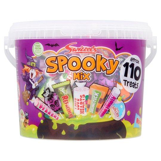 Swizzels Spooky Mix bucket - £2.50 instore Tesco Osterley