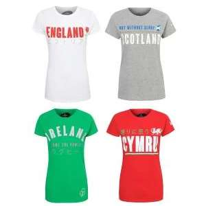 Half Price Womens T-Shirts e.g. England / Scotland / Ireland / Wales Glitter T-Shirts £4 @ George (Free click+collect)