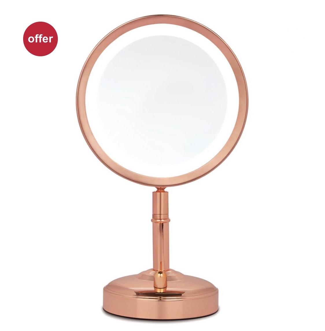 No7 Illuminated Makeup Mirror - Half Price £24.99 @ Boots