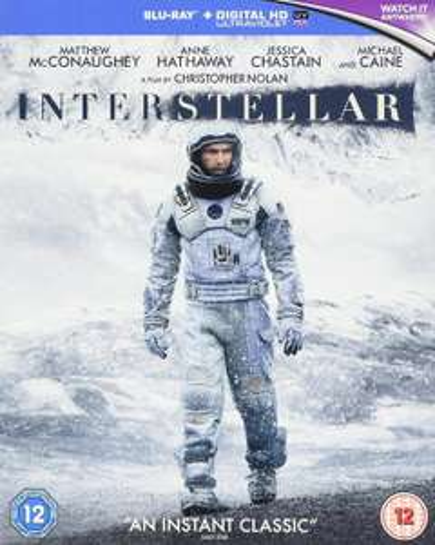 Interstellar Blu-Ray £7.59 @ Base