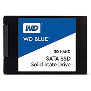 Western Digital WDS500G2B0A WD Blue 3D NAND Internal SSD 2.5 Inch SATA, 500 GB £53.74 @ Amazon