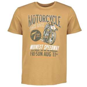 1/2 Price : Motorcycle Speedway Men's T-Shirt Sizes S,L,XL,XXL, Now £4 @ Argos ( Free Click & Collect )