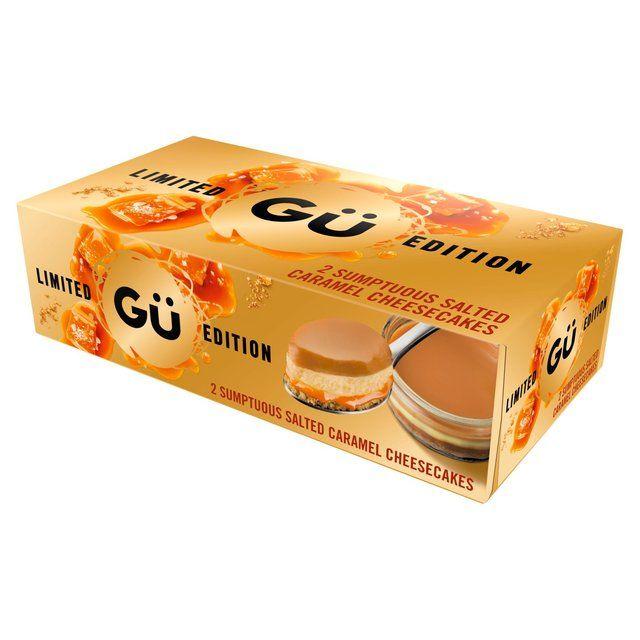 Gu scrumptious cheesecake 2 x 92g £1.50 @ morrisons