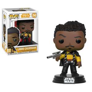 Funko Pop Star Wars Solo 26982 Lando Calrissian £3.74 (Prime) / £8.23 (non Prime) at Amazon