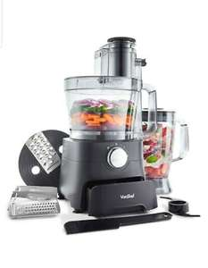VonShef 1000W Food Processor Blender Chopper Juicer Dough Blade Shredder £41.79 domu-uk ebay