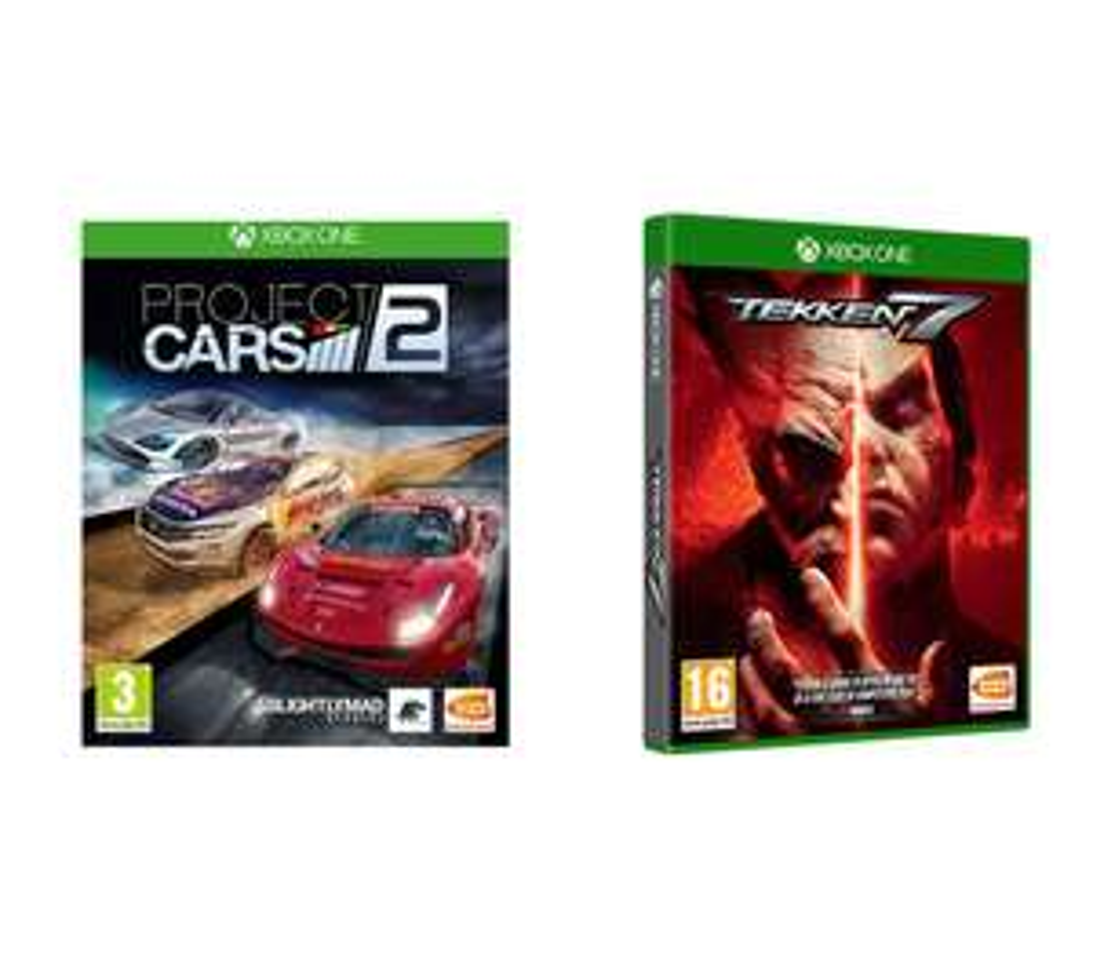 XBOX ONE Tekken 7 & Project Cars 2 Bundle £14.99 Currys